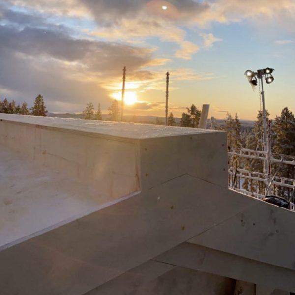 2020-12-01 Högsta punkten på Tallvillan (13 meter ovan mark)