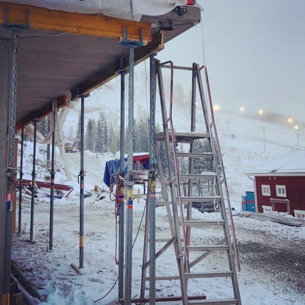 2020-10-21 Snön har kommit till Kåbdalis