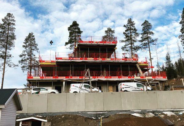 2020-10-16 Alla betongväggar är på plats